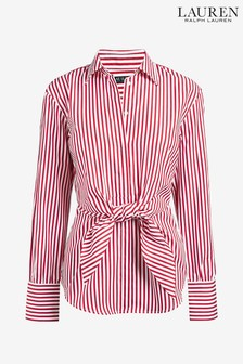 Lauren Ralph Lauren® Red Stripe Sarotte Shirt