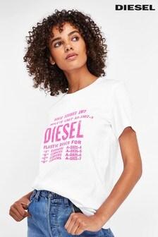 Diesel® Repeat T-Shirt mit Logo,  pink
