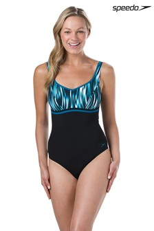 Speedo® Teal Contour Luxe Swimsuit