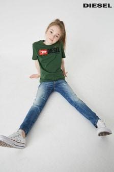 Светлые зауженные детские джинсы Diesel® Babhila