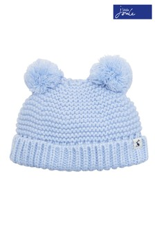 Joules Sky Blue Knitted Hat 893041775606