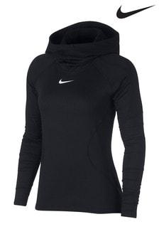 Nike Pro Hyperwarm Schlupf-Kapuzenpulli