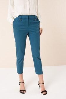 Brushed Capri Trousers