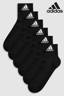 adidas Adults Ankle Socks 6 Pack