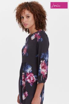 Joules Black Alison Woven Dress