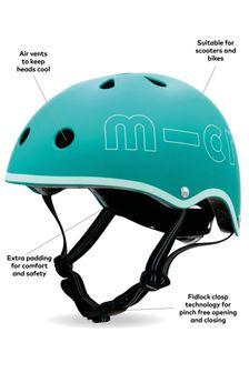 Micro Scooter Childrens Deluxe Helmet Aqua