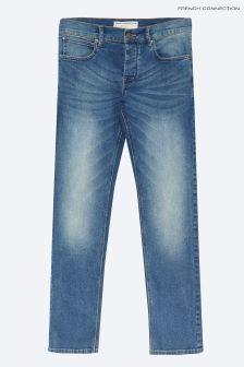 French Connection Light Blue Vintage Slim Fit Denim Jeans