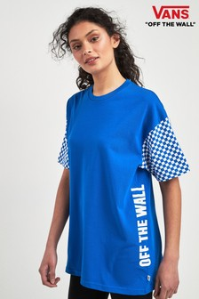 Vans T-Shirt mit Schachbrettmuster