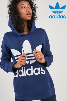 adidas Originals Dark Blue Trefoil Hoody