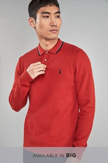 Poloshirt mit Kantendetails