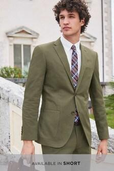 Cotton Blend Suit