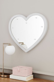 Heart Lit Mirror
