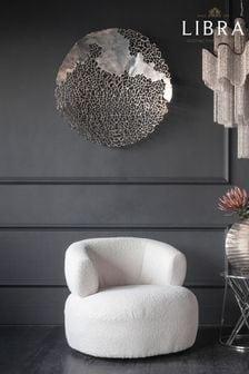 Libra Apo Coral Aluminium Wall Plaque
