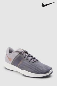 Szaro-złote buty sportowe Nike Gym City Trainer 2