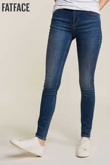 FatFace Jeggings im Vintage-Look, blau