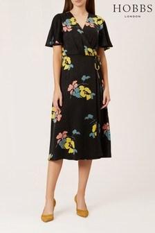 שמלה שחורה דגם Peggy של Hobbs