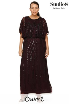 Studio 8 Burgundy Phaedra Dress