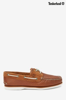 Timberland® Brown 2 Eyelet Boat Shoe