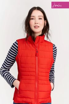 Joules Red Padded Gilet