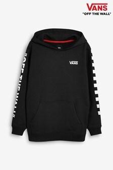 Vans Boys Black Checker Hoody