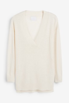 Knitted Tunic With Cashmere