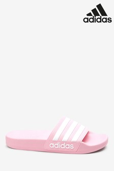 adidas Pink Adilette Junior & Youth Sliders