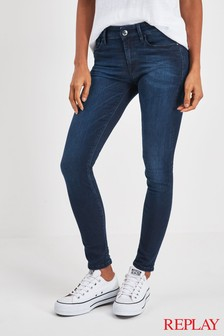Replay® Luz High Waist Skinny Fit Jean