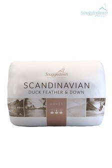 Snuggledown Scandinavian Duck Feather And Down 4.5 Tog Duvet