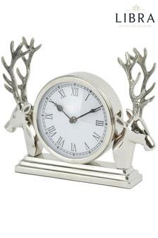 Libra Mantel Stag Clock
