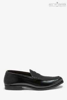 Hi Shine Penny Loafers