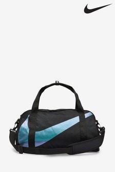 Nike Kids Gym Club Black/Metallic Duffle Bag
