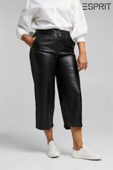 Esprit Black Medium Rise Cullotes