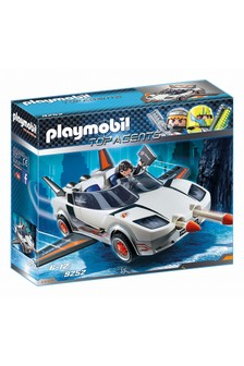 Playmobil® 9252 Top Agents Agent P. With Racer