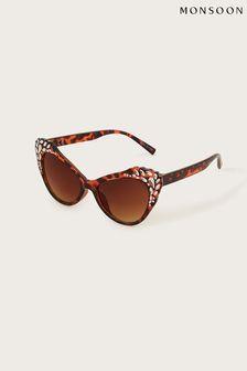 Accessorize Gold Oval Metal Stretch Bracelet