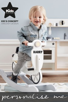 Personalised Wooden Scooter Rocker by Sweden Concepts