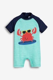 בגד ים עם הגנה מפני השמש (3 חודשים-7 שנים)