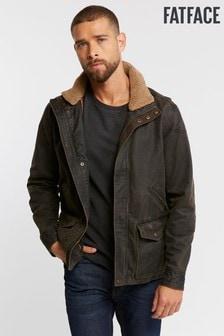Jachetă FatFace Broadsands maro