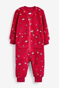 Floral Fleece All-In-One (9mths-8yrs)