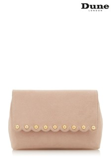 Dune Accessories Pink Stud Scallop Cross Body Bag