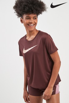 Nike Miler Metalic Swoosh Tee