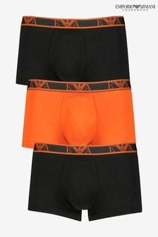 Набор из трех разноцветных боксеров Armani