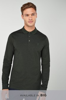 Long Sleeve Premium Oxford Polo