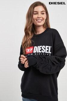 Sweat-shirt avec logo Diesel® noir