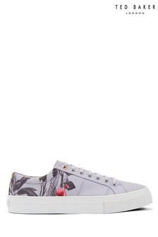Ted Baker Grey Emblem Trainer