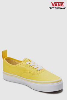 Vans Authentic Youth Sneaker, gelb