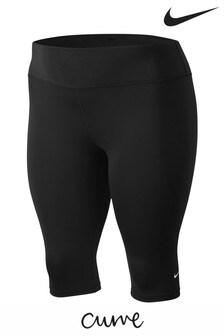 Nike Curve One Black Capri Training Leggings