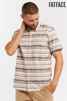 FatFace Pink Auckley Stripe Shirt