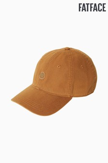 FatFace Yellow Plain Baseball Cap