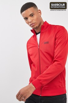 Barbour® International Red Track Top
