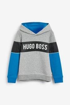 BOSS by Hugo Boss Grey Block Hoody